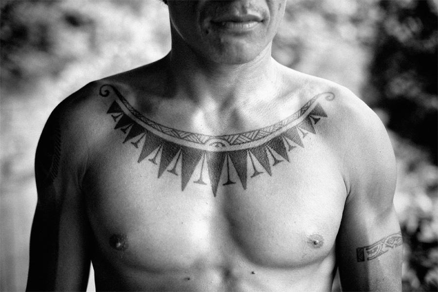 Tahitian Tatoo by Christophe Viseux