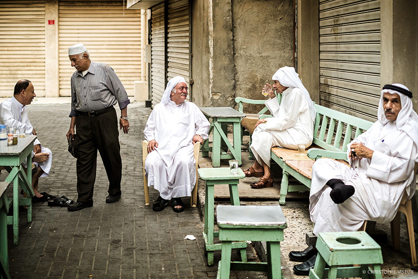 Photojournalist Kuwait | Bahrain. Tea time in the Old Souq
