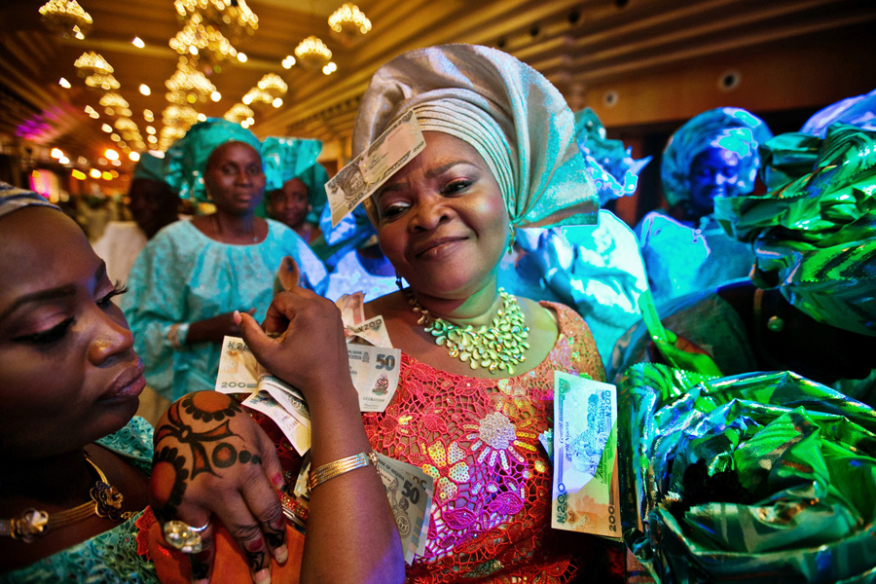 Wedding day in Lagos Nigeria
