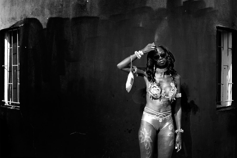 Street photography in Barbados during Cropover 2014 by Christophe Viseux.