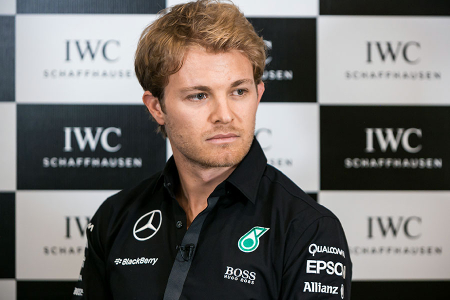 Nico Rosberg at Bahrain Grand Prix by Photojournalist Qatar