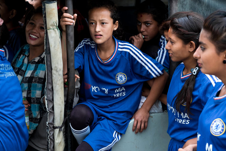 Photojournalism in Nepal, Sports for Development