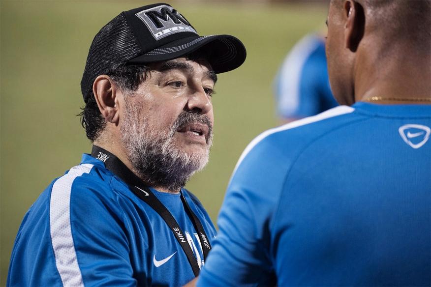 Maradona joins Fujairah FC. Freelance Photographer Dubai UAE